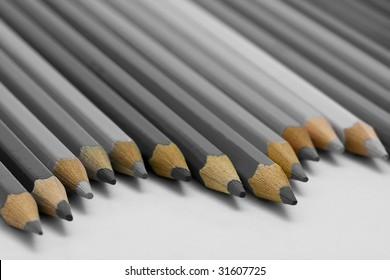 Grey Pencils