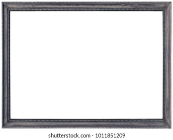 Grey Photo Image Frame Cutout