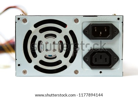 grey power supply for