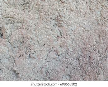 Grey rough concrete