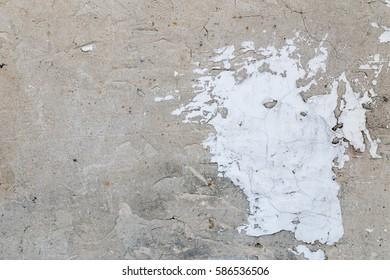 Grey rough concrete background texture.