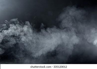 Grey Smoke Overlay Texture