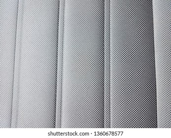 grey soft car seat fabric or textile or material