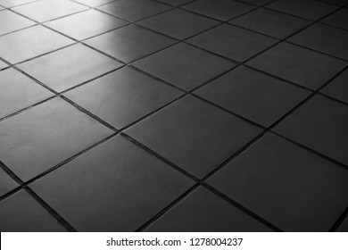 grey square scratched tiles flooring perspective view shiny abstract industrial background