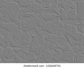 Grey Stone Mural, Background, Wallpaper