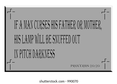Similar Images, Stock Photos & Vectors of Proverbs 30:5 Sign