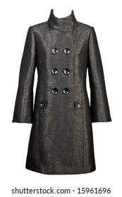 Grey thick cloth coat
