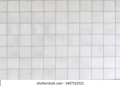 grey tiles pattern background square concrete block for exterior wall floor architecture.