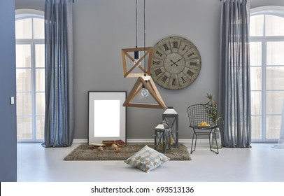 Empty Design Living Room Stock Photo And Image Collection By United Photo Studio Shutterstock