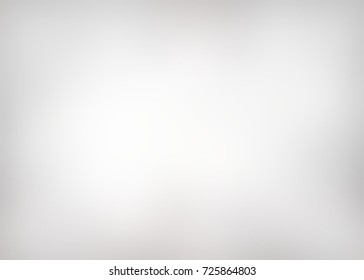 grey white blurred background - vignette abstract texture, empty style