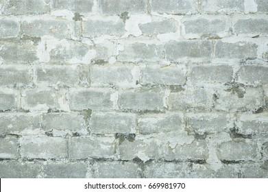 Grey white grunge wall background