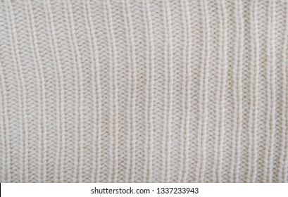 Grey wool texture knit fabric.Gray woolen background.