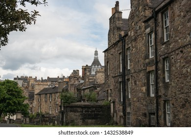 Greyfriars Kirk is one of the oldest buildings in the Old Town of Edinburgh. Many notable people are buried in the kirkyard, which contains attractive monuments and attractive views.