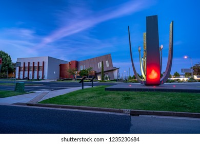Griffith, NSW, Australia - Nov 3, 2018: Griffith City Council building