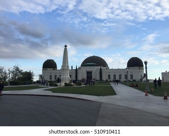 Griffith Observatory at Los Angeles, California, US