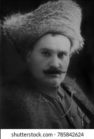Grigori Semenoff, was a Cossack military leader in Siberia backed by French, British, and Japanese. He fought against the Bolsheviks in the area of the Trans-Baikal branch of the Trans-Siberian Railwa