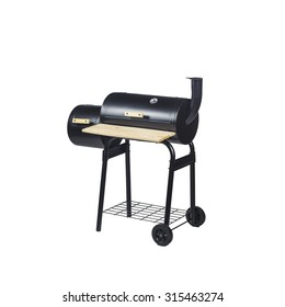 Grill on charcoal