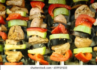 grill vegetarian