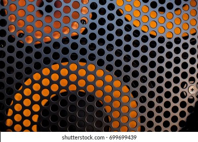 grille and speaker texture. grille and speaker background. musical background. dj background. soft focus