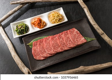 Grilled beef with luxury beef