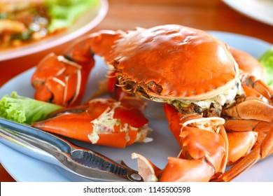 grilled big crab