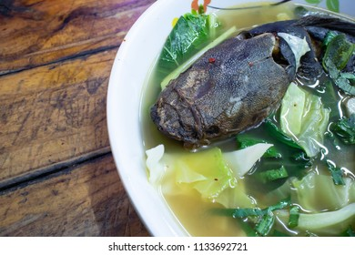 Grilled Catfish in Spicy Soup