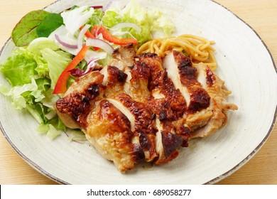 Grilled chicken,