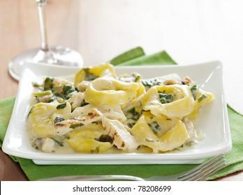 grilled chicken asiago tortellini