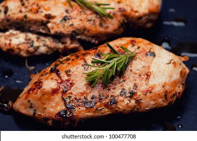 Grilled chicken breast