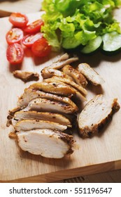 grilled chicken breast for clean eating meal
