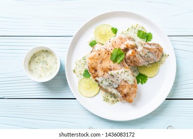 grilled chicken breast with lemon lime sauce