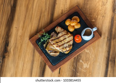 Grilled chicken file