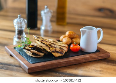 Grilled chicken filet