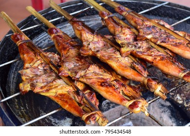 Grilled chicken, Food in Thailand