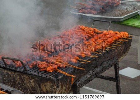 Grilled Chicken Made Eat Well We Stock Photo Edit Now 1151789897