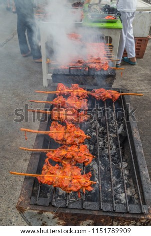 Grilled Chicken Made Eat Well We Stock Photo Edit Now 1151789909