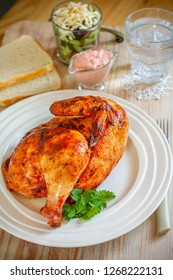 Grilled chiken meal