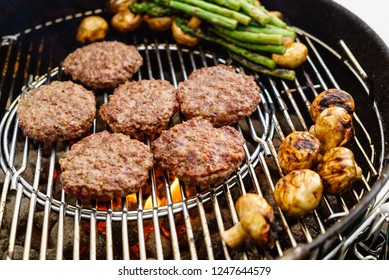 grilled cutles with vegetables