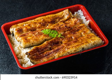 Grilled eel of the finest Japanese food