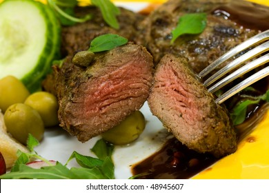 Grilled Fillet-Sirloin of Lamb