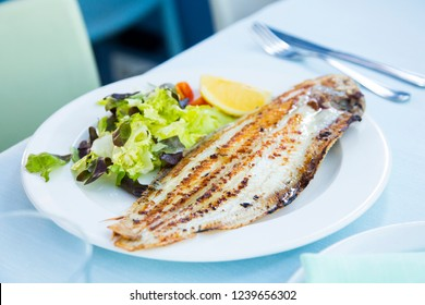 Grilled Fish Seafood Tapas Fish