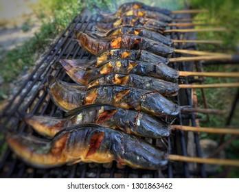 Grilled fish , thai food - lmage