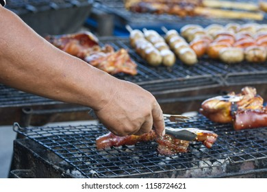 Grilled Foods on the grill