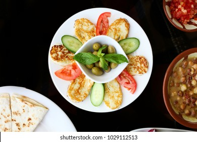Grilled Halloumi Lebanese