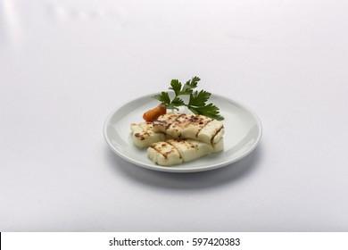 Grilled Hallumi Cheese