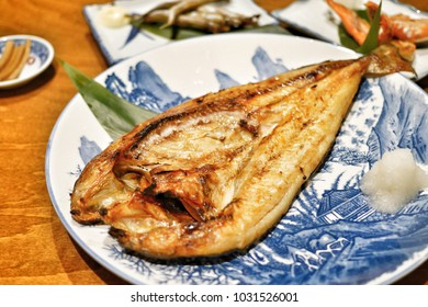 Grilled Hokke fish