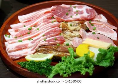 Grilled Pork Korea.