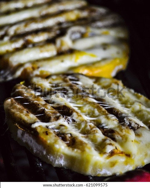 Grilled Provolone Cheese Provoleta