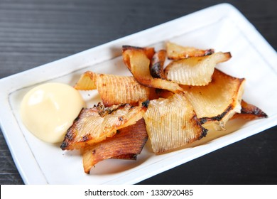 grilled ray fin