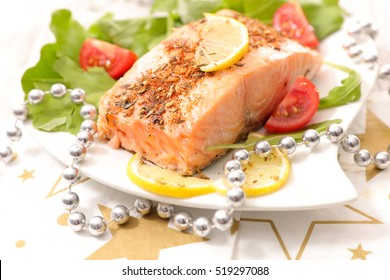 grilled salmon for christmas